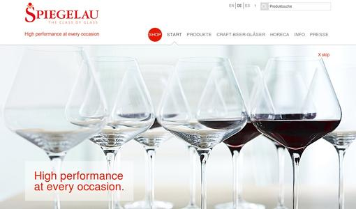 Spiegelau - High performance at every occasion