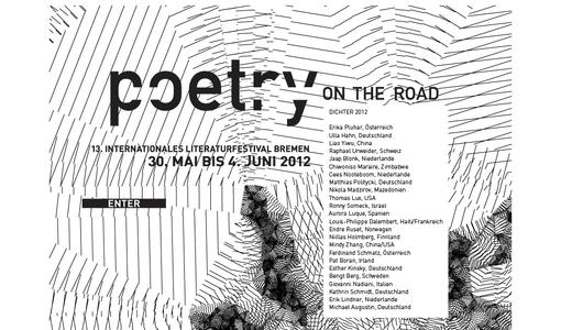 "Weitere Infos zu """"poetry on the road"": 13. Internationales Literaturfestival Bremen"""
