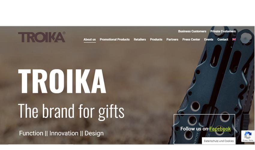 TROIKA Website