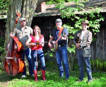 woodpickers Bluegrassband Foto: Sally, Woodpickers