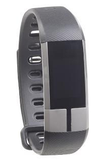 newgen medicals Fitness-Armband FBT-105 mit Blutdruck-Anzeige, Herzfrequenz & Bluetooth, IP67