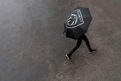 PEUGEOT Umbrella BrandLogo Black