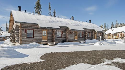 Das Nordic Chalet in Äkäslompolo © Destination Lapland