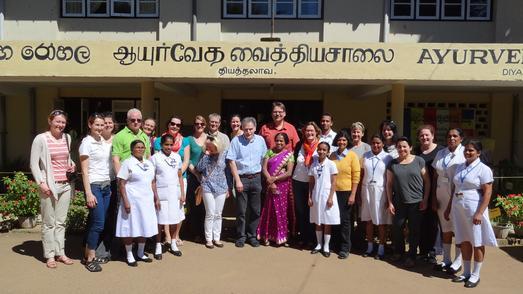 Exkursion nach Sri Lanka: Studierende der Hochschule Osnabrück haben innerhalb von zwei Wochen einen intensiven Einblick in das Gesundheitssystem des Inselstaates erhalten