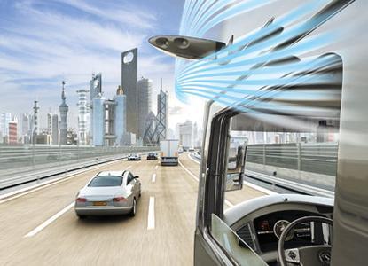Kameras statt Außenspiegel: Continental ProViu®Mirror macht Nutzfahrzeuge sicherer und effizienter