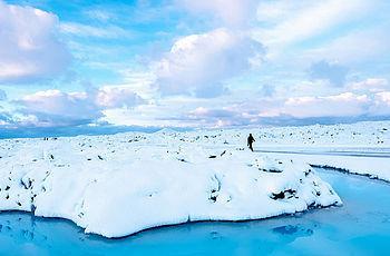 Winter auf Island
