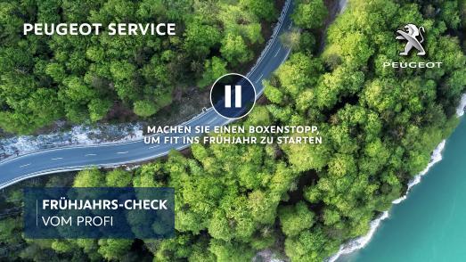 Mit dem PEUGEOT Frühjahrs-Check können Kundinnen und Kunden der Löwenmarke sicher in den Frühling starten.