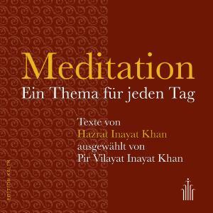 Meditation - Ein Thema für jeden Tag - Buchcover Edition Kalim