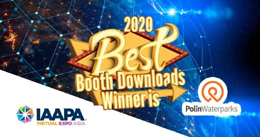 Polin Waterparks Celebrates Its First Ever Virtual Award!