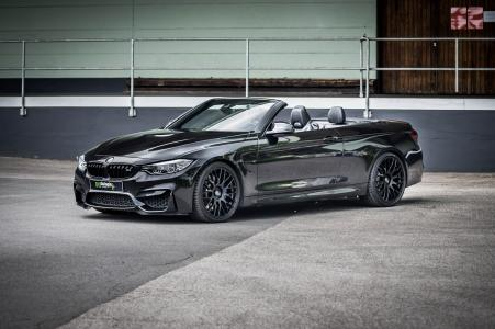 Barracuda-Klassiker Karizzma am Münchener Power-Cabriolet BMW F82 M4