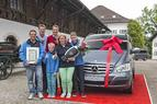 "Mercedes-Benz und Jörg Pilawa küren die ""Viano Family of the Year 2013"""