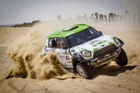 2015 Abu Dhabi Desert Challenge, Erik Van Loon (NED), Wouter Rosegaar (NED) - MINI ALL4 Racing #206 - X-raid GmbH - 30.03.2015