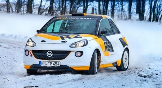Auf dem Genfer Automobilsalon stellt Opel die nach dem FIA-Rallye-Reglement R2 aufgebaute Studie des gerade vorgestellten Opel ADAM vor.