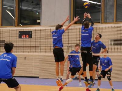 Die Volleyball-Mannschaft des ASV Dachau