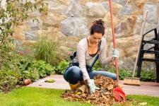So schön das bunte Laub im Herbst an den Bäumen leuchtet –spätestens wenn die Pracht zu Boden rieselt, bedeutet es für den Gartenbesitzer vor allem eins: Arbeit. Bild: © CandyBox Images/stock.adobe.com/bauemotion.de
