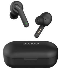 auvisio In-Ear-Stereo-Headset IHS-770.anc mit ANC und Powerbank-Ladebox, 30 Std. Spielzeit