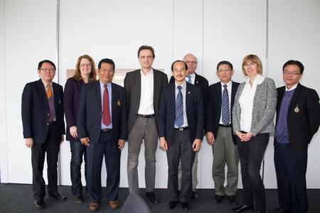 Delegation der Prince of Songkla University, Thailand, zu Gast an der Hochschule Osnabrück