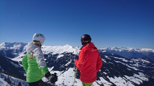 Skijuwel mit traumhafter Aussicht