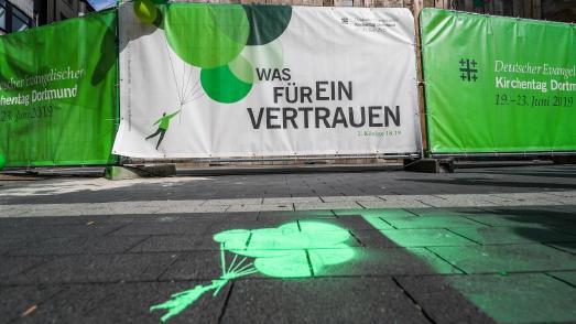 Hope Media beim Deutschen Evangelischen Kirchentag.