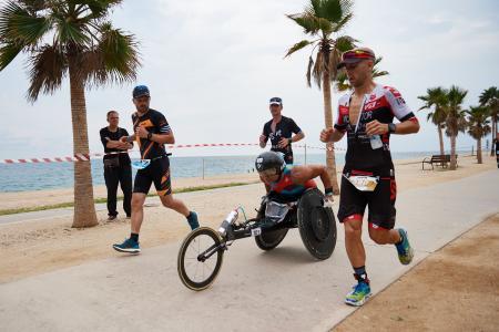 Alessandro Zanardi, Triathlon, Rennrollstuhl, Barcelona