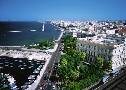 Bari ist die Hauptstadt Apuliens