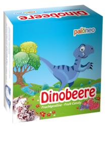 PALONEO - 9 Fruchtkugeln sind in dieser Verpackung sowie zwei aufgedruckte Gedächtnis Spielkarten, die ausgeschnitten und gesammelt werden können