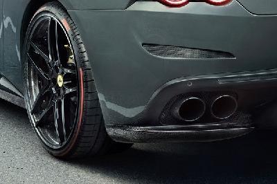 Der von NOVITEC veredelte Ferrari GTC4 Lusso ist mit Pirelli P Zero-Reifen versehen / Bild © NOVITEC GROUP