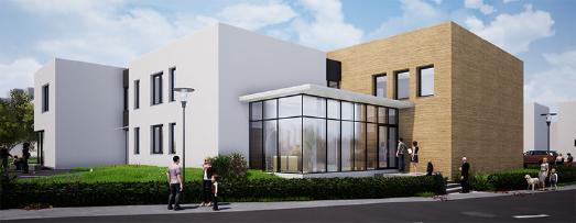 Neubau Gemeindezentrum und Kita in Fürth