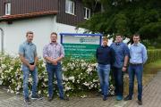 Die frisch gebackenen Forstwirt-Gesellen legten im Niedersächsischen Forstlichen Bildungszentrum ihre Prüfung ab. NLF / Rudolph
