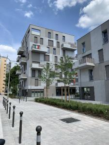 Die Neubauten an der Reinerzer Straße geben ein städtebaulich gelungenes Bild, Axel Rieger, wbg Nürnberg