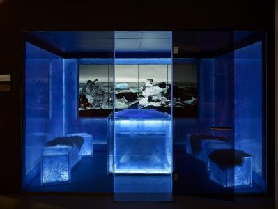 KLAFS kann nicht nur Sauna, sondern auch kalt: Erfrischung für alle Sinne mit der ICE LOUNGE