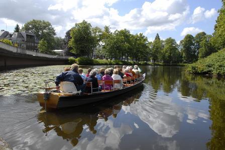 Fleetkahnfahrt auf dem Burggraben, Fotograf: Martin Elsen