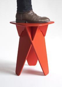 Wedge Table auch als Hocker nutzbar