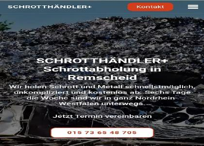 Schrottabholung und Demontage in  Remscheid Wir holen Ihren Schrott ab und zahlen faire Preise