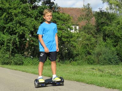 Hoverboards sind im öffentlichen Straßenverkehr verboten. Foto: ARCD
