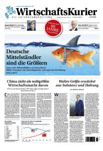 """Der """"WirtschaftsKurier"""" erscheint als größte Wirtschaftszeitung der Welt"""