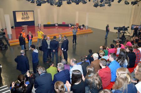 Bayerisches Dachdeckerhandwerk in der BR-Show