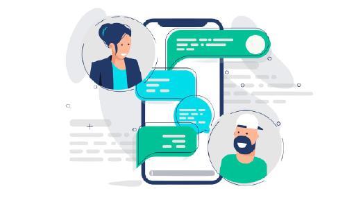 Messenger-Kommunikation für Unternehmen