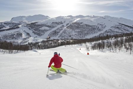 Das norwegische Skigebiet Hemsedal präsentiert sich zur Saisoneröffnung am 21. und 22. Oktober im alpincenter Wittenburg