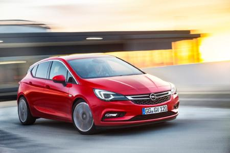 "The champion: The new Opel Astra was voted Europe's ""Car of the Year 2016"""