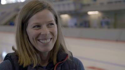 Christine Nesbitt, eine der besten Eisschnellläuferinnen Kanadas / Christine Nesbitt / Foto: Mark Caswell, Copyright: Berlin Producers Media GmbH / Pre TV