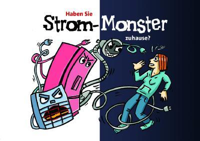 """Mit der """"Strom-Monster""""-Postkarte können Haushalte zukünftig die Stromsparhelfer von Wabeq Bremen oder dem Förderwerk Bremerhaven ganz einfach anfordern."""