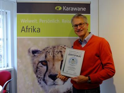Steffen Albrecht - Geschäftsführer Karawane Reisen