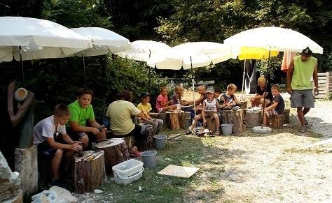 14./15. August, 13-17 Uhr: Ferienangebot, Kinder-Bildhauern in Zusammenarbeit mit der Stadt Gundelfingen