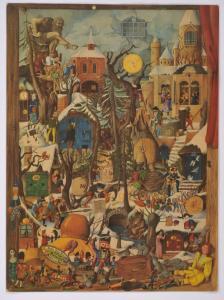 """Adventskalender """"Märchenbilder"""" aus dem Planet-Verlag Berlin, 1983.  Foto: Stadtmuseum Dresden"""