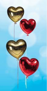 Romantisch dekorieren mit Herz / Bildvermerk: www.dekowoerner.de