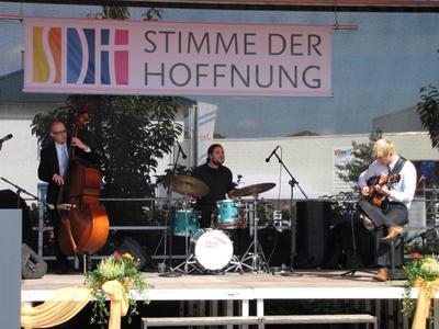 Live-Musikbühne; Foto: mm