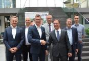 Alter und neuer Vorstand v.l.n.r.: Heinrich Quaderer, Jochen Wiener, Dirk Otto, Jörg Petri, Thomas Knoepfle, Robert Paul, Danilo Schön © Foto (Roald Niederlein, RealFM e.V.)