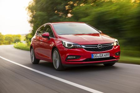 The bestseller: The Opel Astra is number two in compact class sales both in Europe and in Germany