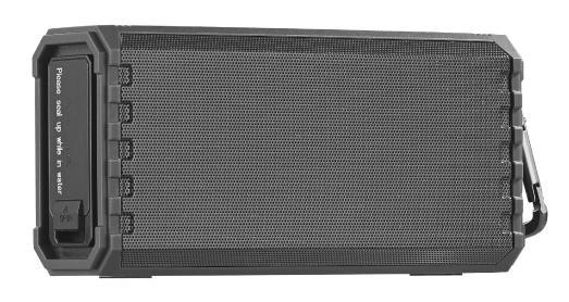 auvisio Outdoor-Lautsprecher MSS-500, Bluetooth, Freisprecher, MP3-Player, 25 W, IPX7